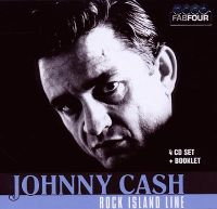 Cover Johnny Cash - Rock Island Line [4 CD Set]